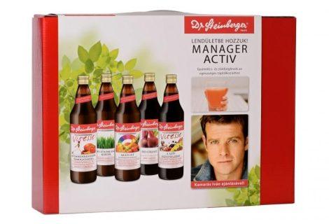 Dr. Steinberger Manager Activ csomag 5x750 ml - Étel-ital, Ital, Zöldség és gyümölcslé