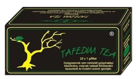 Tafedim Filteres gyógytea 25 g - Gyógynövény, tea, Filteres tea