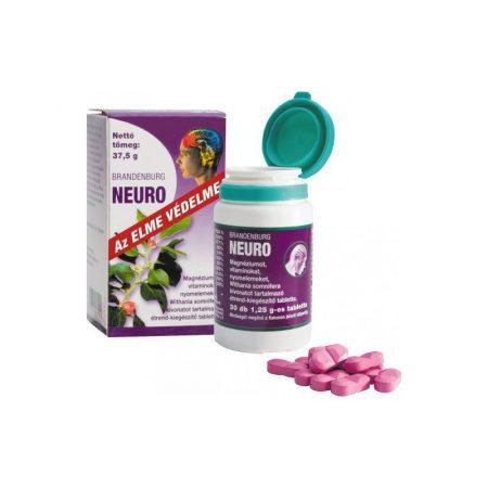 Brandenburg Neuro étrend-kiegészítő tabletta /Neuroptim/ 30db