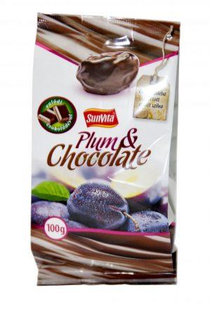 Sunvita Csokoládéval bevont aszalt szilva 100g - Étel-ital, Szárított, aszalt gyümölcs