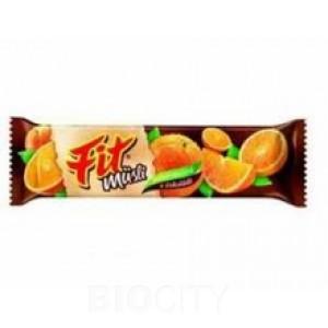 Fit Narancsos ízű gluténmentes müzliszelet csokoládé bevonattal 30g