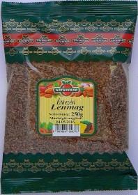 Naturfood Lenmag 250 g - Étel-ital, Mag, olajos mag, magőrlemény