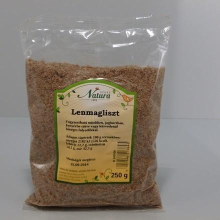 Natura Lenmagliszt 250 g - Étel-ital, Mag, olajos mag, magőrlemény
