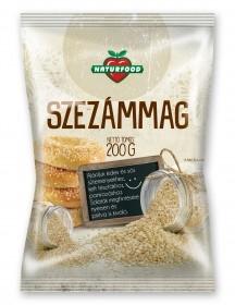 Naturfood Szezámmag 200 g - Étel-ital, Mag, olajos mag, magőrlemény