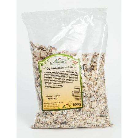 Natura Gyümölcsös müzli 500 g - Étel-ital, Müzli, gabonapehely, granola, reggeli alapanyag