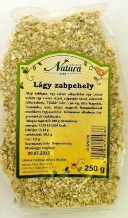 Natura Lágy zabpehely 250 g - Étel-ital, Gabona, dara, pehely, korpa, Pehely, korpa