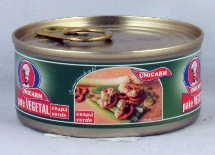 Unicarm Zöldhagymás növényi pástétom 110 g - Étel-ital, Pástétom, szendvicskrém
