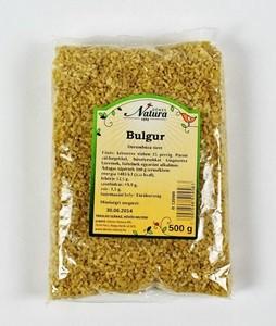 Natura Bulgur 500 g - Étel-ital, Gabona, dara, pehely, korpa, Gabona, őrlemény, dara