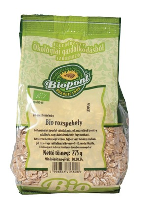 Biopont Bio Rozspehely 275 g - Étel-ital, Gabona, dara, pehely, korpa, Pehely, korpa