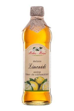 Méhes Mézes Limonádé szörp lime és citromléből 668 g - Étel-ital, Ital, Szörp