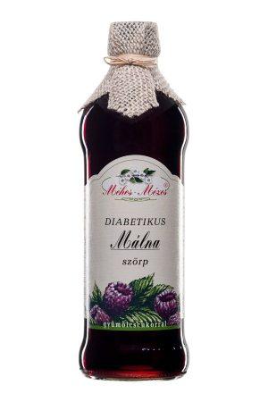 Méhes Mézes Diabetikus málnaszörp gyümölcscukorral 668 g - Étel-ital, Ital, Szörp