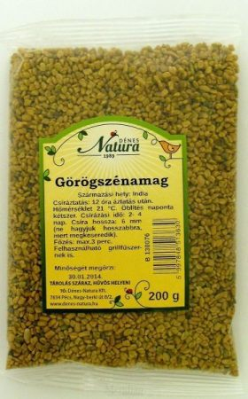 Natura Görögszénamag 200 g - Étel-ital, Hüvelyes, csíra, csíramag