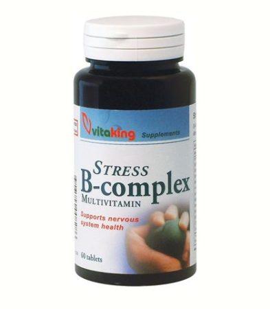 Vitaking Stressz B-komplex tabletta 60db - Étrend-kiegészítő, vitamin, B-vitamin