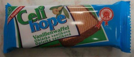 Celi Hope Gluténmentes vaníliás krémmel töltött ostya csokitalpban 35g