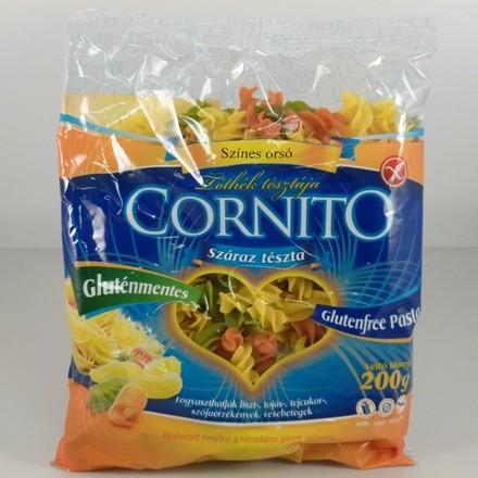 Cornito Gluténmentes színes orsó tészta (Tóthék tésztája) 200 g