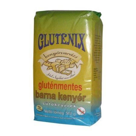 Glutenix Gluténmentes Barna kenyér sütőkeverék 500 g
