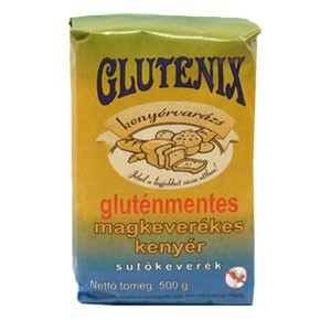 Glutenix Gluténmentes Magkeverékes kenyérliszt 500 g