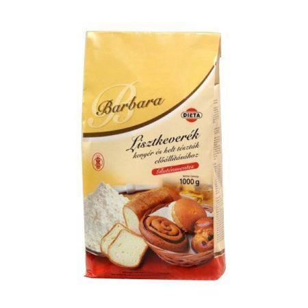 Barbara Gluténmentes lisztkeverék kenyérhez és kelt tésztához 1000 g - Étel-ital, Liszt