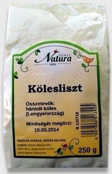 Natura Kölesliszt 250 g - Étel-ital, Liszt
