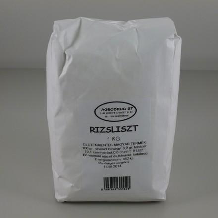 Agrodrug Rizsliszt 1000 g - Étel-ital, Liszt