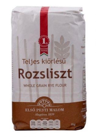 Első Pesti Malom Teljes kiőrlésű rozsliszt RL-190 1000 g - Étel-ital, Liszt