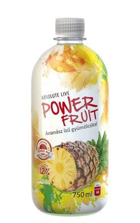 Powerfruit Ananász gyümölcsital C-1000mg 0,75l - Étel-ital, Ital, Alternatív és funkcionális üdítő