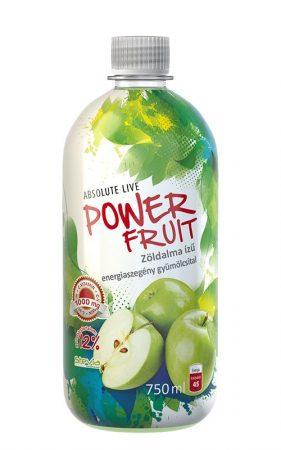 Powerfruit Zöldalma gyümölcsital C-1000mg 0,75l - Étel-ital, Ital, Alternatív és funkcionális üdítő