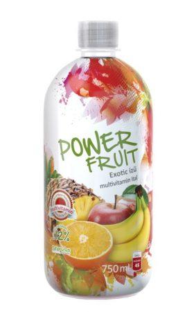 Powerfruit Multivitamin gyümölcsital (alma-banán-narancs) C-1000mg 0,75l