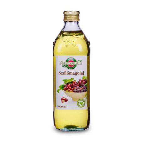 Naturganik Szőlőmag olaj 1000 ml - Étel-ital, Olaj, zsiradék, Egyéb olaj