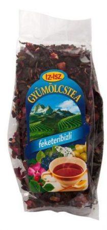IZ-ISZ Gyümölcstea feketeribizli ízű 100 g - Gyógynövény, tea, Szálas gyógynövény, tea