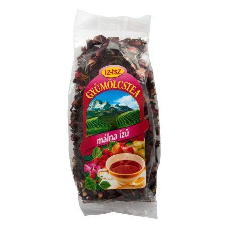 IZ-ISZ Gyümölcstea málna ízű 100 g - Gyógynövény, tea, Szálas gyógynövény, tea