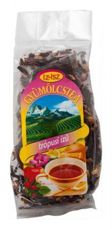IZ-ISZ Gyümölcstea trópusi ízű 100 g - Gyógynövény, tea, Szálas gyógynövény, tea