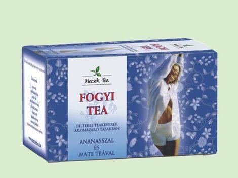 Mecsek Fogyi tea 20x1g - Gyógynövény, tea, Teakaverék