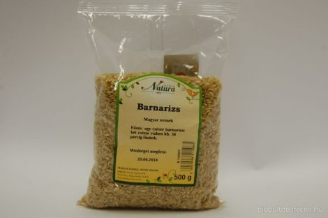 Natura Barnarizs 500 g - Étel-ital, Tészta, rizs, Rizs