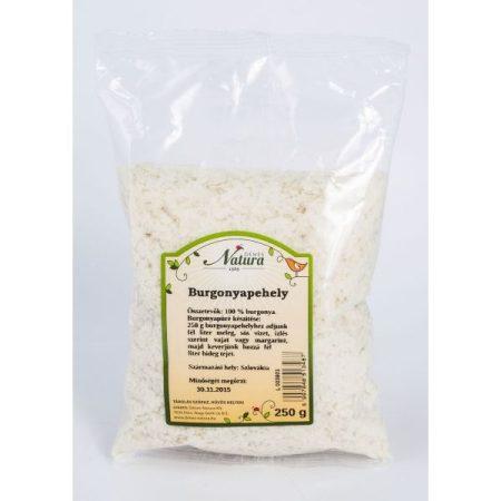 Natura Burgonyapehely 250 g - Étel-ital, Konyhai segédanyag, sütési adalék, Keményítő, sűrítőanyag