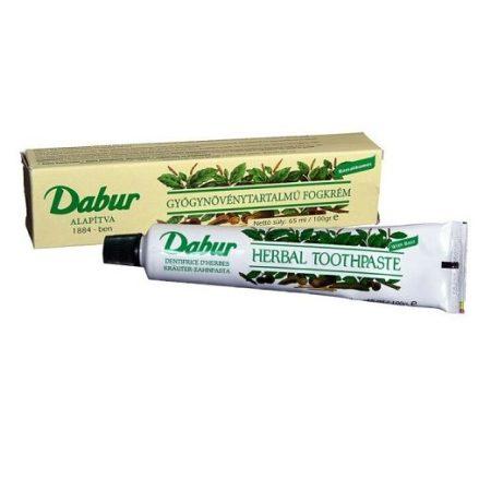 Dabur Herbal fogkrém 65 ml - Kozmetikum, bőrápolás, intim termék, Testápolás, Fog- és szájápolás