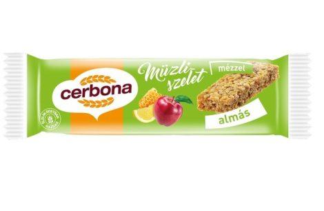 Cerbona müzliszelet almás 20g - Étel-ital, Finomság, Édes, sós ropogtatnivaló