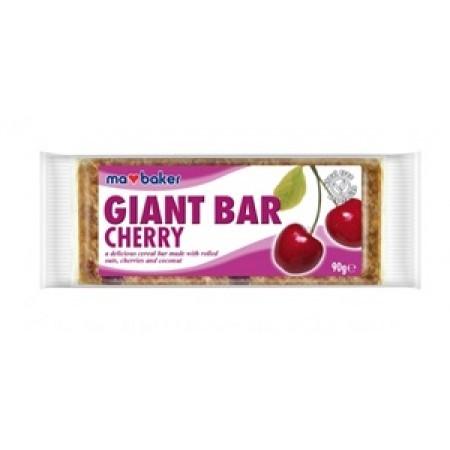 Ma Baker Giant Bar Zabszelet cseresznye 90g