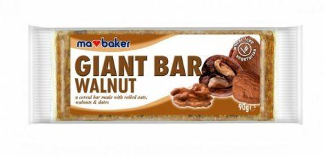Ma Baker Giant Bar Zabszelet dió 90g - Étel-ital, Finomság, Csokoládé, müzli- és gyümölcsszelet