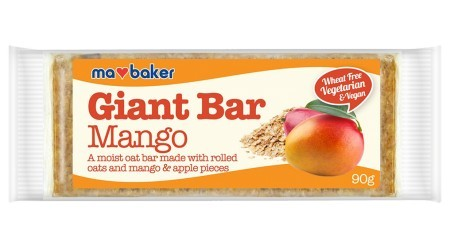 Ma Baker Giant Bar Zabszelet mangó 90g - Étel-ital, Finomság, Csokoládé, müzli- és gyümölcsszelet
