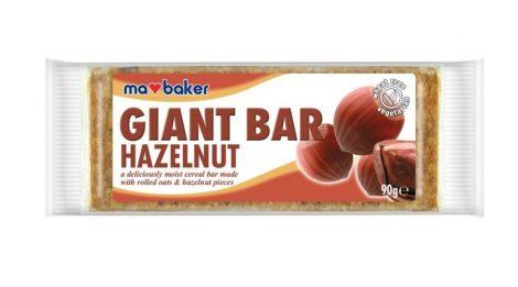 Ma Baker Giant Bar Zabszelet mogyoró 90g - Étel-ital, Finomság, Csokoládé, müzli- és gyümölcsszelet