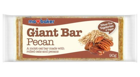 Ma Baker Giant Bar Zabszelet pekándió 90g - Étel-ital, Finomság, Csokoládé, müzli- és gyümölcsszelet