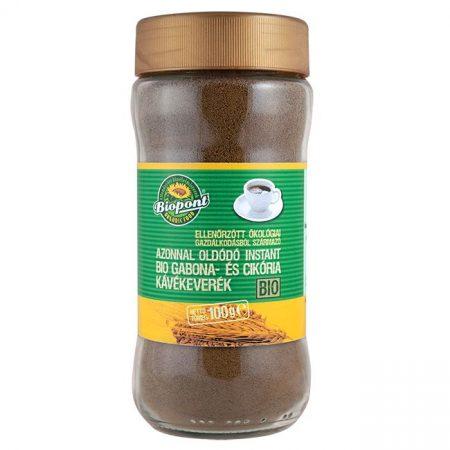 Biopont Bio Instant gabonakávé-keverék üveges 100 g - Étel-ital, Ital, Kávé