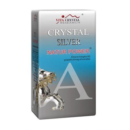 Vita Crystal Silver Natur Power ezüstkolloid étrend-kiegészítő 500 ml