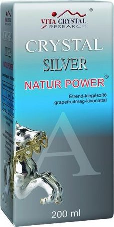 Vita Crystal Silver Natur Power ezüstkolloid ital 200 ml