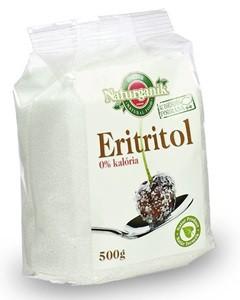 Naturganik Eritritol 500g - Étel-ital, Cukor, cukorhelyettesítő, édesítőszer, Xilit, eritrit, stevia