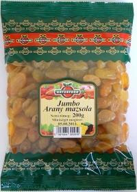 Naturfood Jumbo arany mazsola 200 g - Étel-ital, Szárított, aszalt gyümölcs
