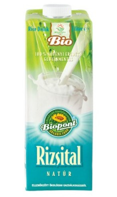 Biopont Bio rizsital natúr 1000 ml