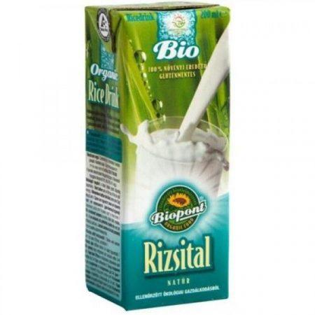 Biopont Bio rizsital natúr 200 ml