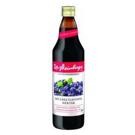 Dr. Steinberger Bio feketeáfonya nektár 750 ml - Étel-ital, Ital, Zöldség és gyümölcslé
